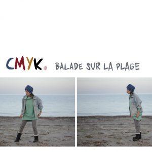 CMYK. Balade Sur La Plage